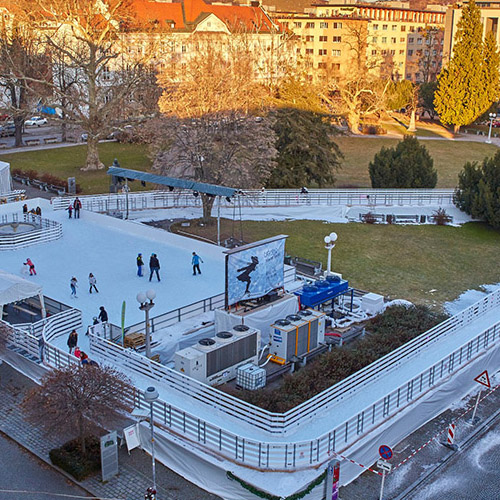 Location chemin de glace