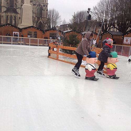 Location patinoires éphémères en glace