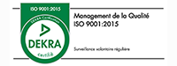 certification iso 9001:2015 - Dekra